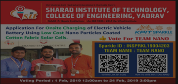 Final year Mechanical Engineering studnets at SITCOE